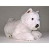 peluche allongee west higland scottish terrier 45 cm piutre 2276