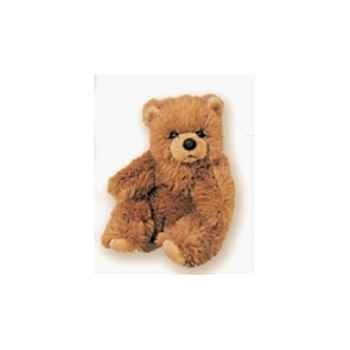 Peluche assise ours grizzly 30 cm Piutre -2108