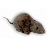 peluche souris noire 12 cm piutre 626