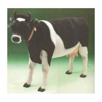 Peluche debout vache noire et blanche 240 cm Piutre -2685