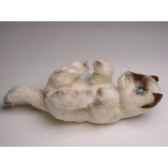 peluche chaton siamois qui joue 20 cm piutre 2449
