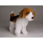 peluche miniature debout beagle 24 cm piutre 4284