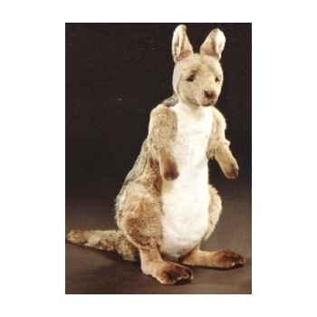Peluche debout kangourou 70 cm Piutre -2414