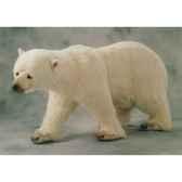 peluche ours polaire sur ses pattes arrieres 200 cm piutre 2185
