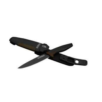 Peluche allongée renard argenté 35 cm Piutre -2660