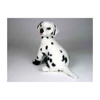 Peluche assise dalmatien 40 cm Piutre -3243