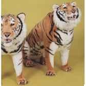 peluche assise tigre du benga200 cm piutre 2512