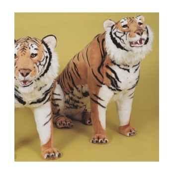 Peluche assise tigre du bengal 200 cm Piutre -2512