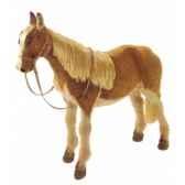 peluche debout poney 135 cm piutre 2661