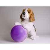 peluche chiot beagle qui reclame 40 cm piutre 2243