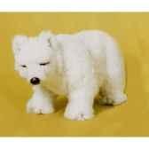 peluche debout ours polaire 45 cm piutre 2114