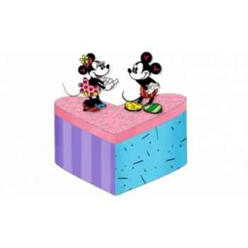 Mickey & minnie lidded box Britto Romero -4019376