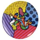 assiette peace love mickey n britto romero 4024503