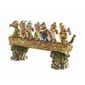 homeward bound seven dwarfs figurines disney collection 4005434