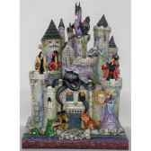 tower of fright haunted castle with disney villains figurines disney collection 4013979