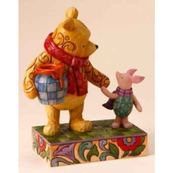 Together forever (classic pooh & piglet)  Figurines Disney Collection -4016588