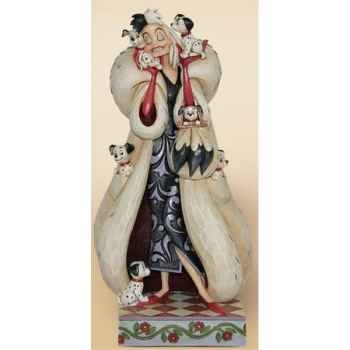 Fur-lined diva (cruella devil)  Figurines Disney Collection -4023534