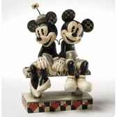 date night mickey minnie mouse figurines disney collection 4023571