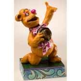 wakah wakah fozzie bear figurines disney collection muppet show 4020808