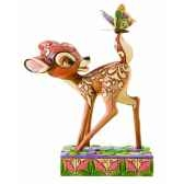 wonder of spring bambi figurines disney collection 4010026