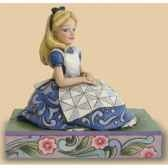 awaiting an adventure alice in wonderland figurines disney collection 4023527
