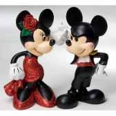 paso doble mickey minnie figurines disney collection 4022353