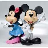 disco mickey minnie figurines disney collection 4022356