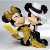 salsa mickey minnie figurines disney collection 4022357