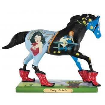 Cowgirls rule n Painted Ponies -4026390