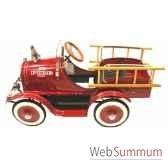 voiture a pedales camion de pompier 12620