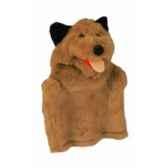 marionnette kersa chien brun 12480