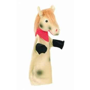 Marionnette Kersa - Cheval gris pommelé - 13734