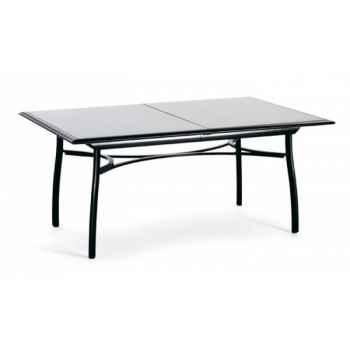 Première table rectangulaire extensible Ego Paris -EM2TEE