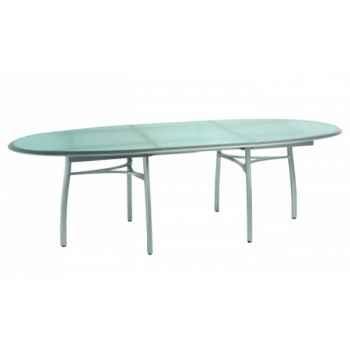 Première table repas ovale avec allonge Ego Paris -EM2TVA