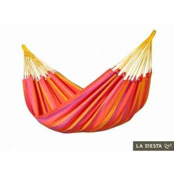 Hamac simple colombien sonrisa mandarine (résistant aux intempéries) La Siesta -SNH14-5