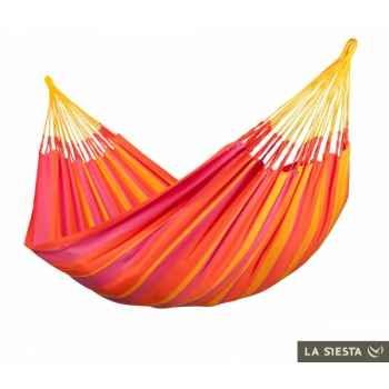 Hamac double colombien sonrisa mandarine (résistant aux intempéries) La Siesta -SNH16-5