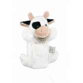 marionnette peluche vache blanche 1224
