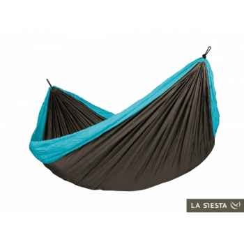 Hamac de voyage double colibri turquoise La Siesta -CLH20-3