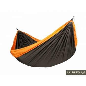 Hamac de voyage double colibri orange La Siesta -CLH20-5