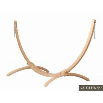 Support hamac double atlÁntico wood (fsc) La Siesta -ATS16-1