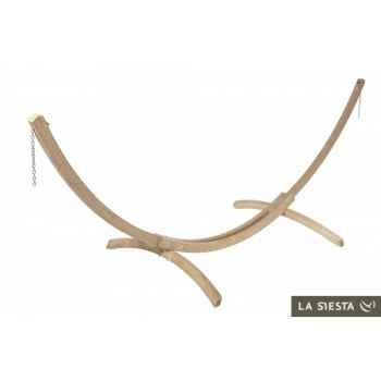 Support hamac familial barco wood La Siesta -BAS20-1