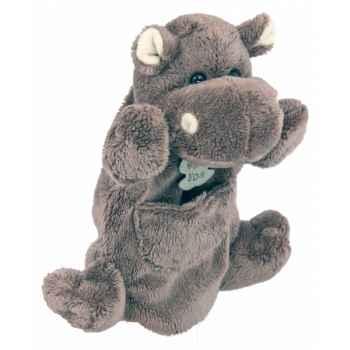 Marionnette peluche Hippopotame 1259