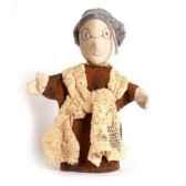 marionnette tissus grand mere 5467