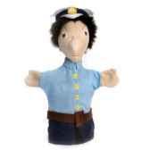 marionnette tissus officier de police 5465