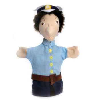 Marionnette tissus- Officier de Police -5465