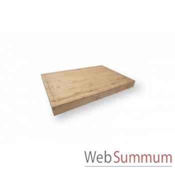 Plancha planche à découper bambou Forge Adour -forgeadour90
