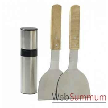 Cooking box - kit spatules avec diffuseur d'huile Favex -971.3018
