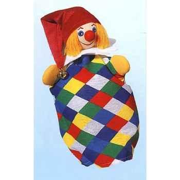 Marionnette Kersa - Clown Kasperl  - 60200