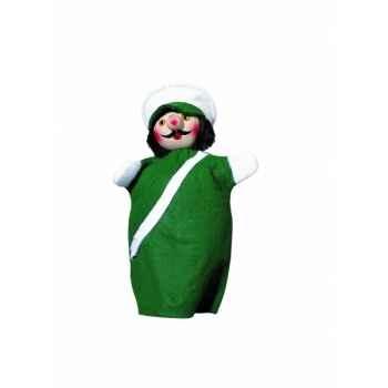 Marionnette Kersa - Policier vert - 60250