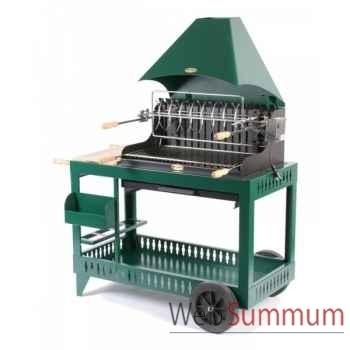 Isturits s/chariot acier - vert Le Marquier -BAR3551C10